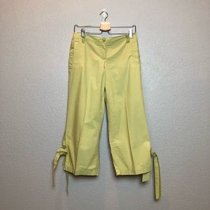 +A N T H R O+ Sitwell Capri pants
